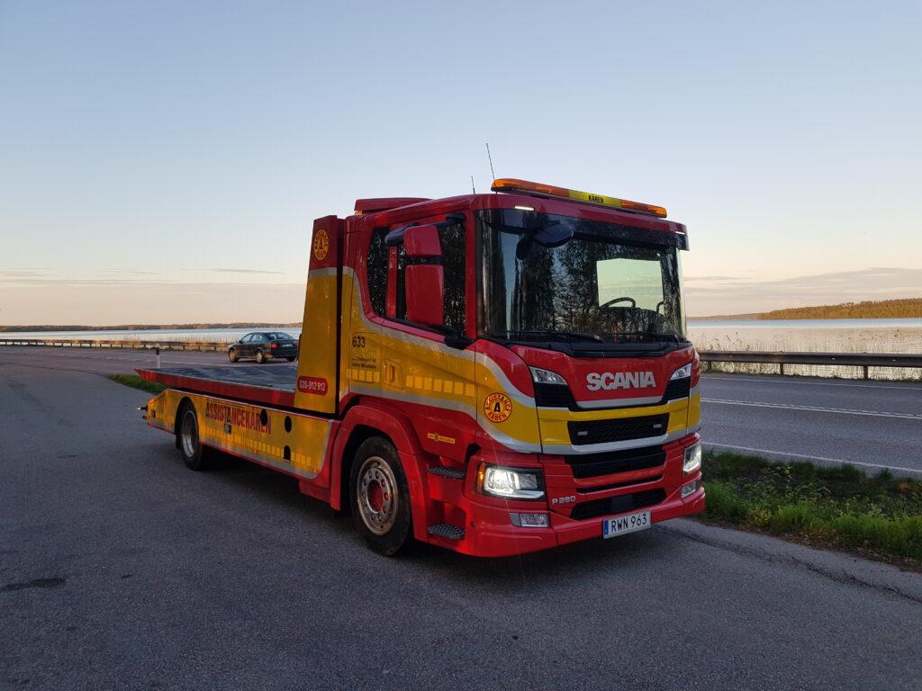 Scania R280 bärgare
