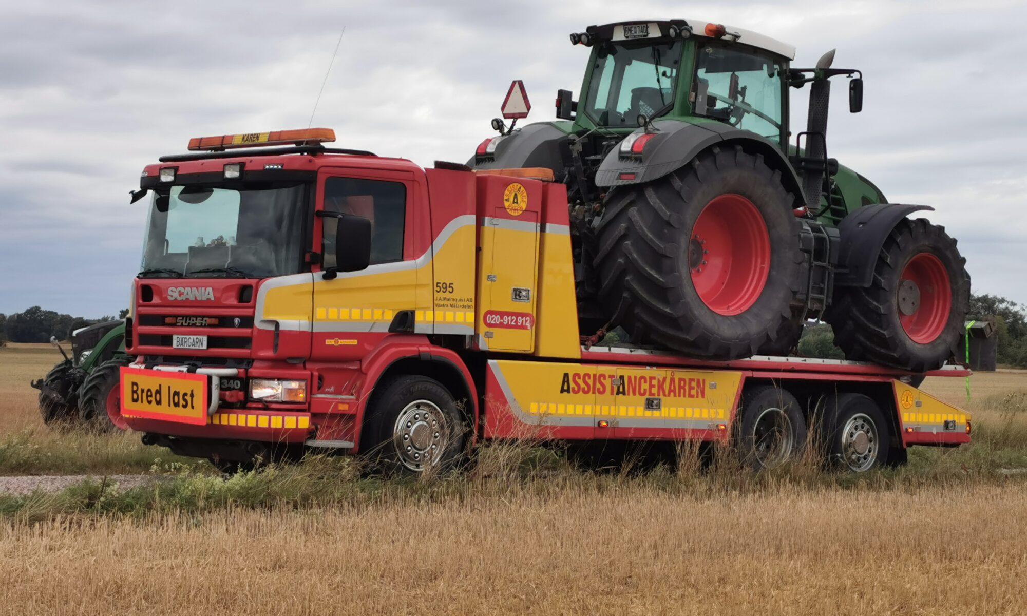 Traktortransport