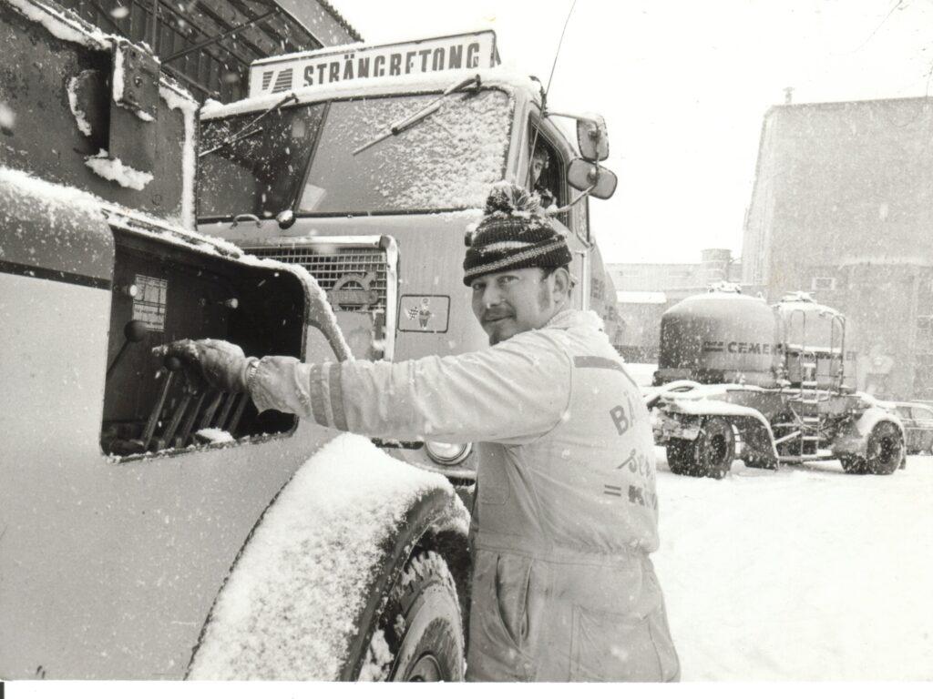 Janne bärgar bulkbil