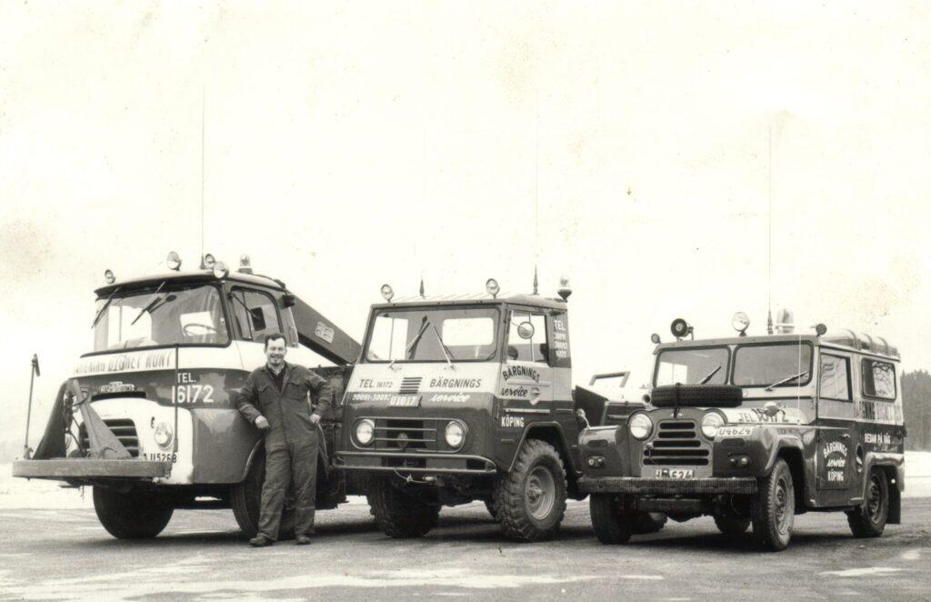 Janne med tidig fordonsflotta